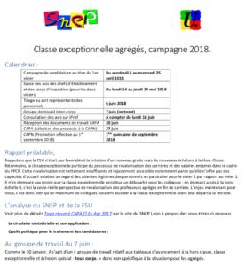 Compte Rendu De La Capa Classe Exceptionnelle Des Agreges Juin 2018