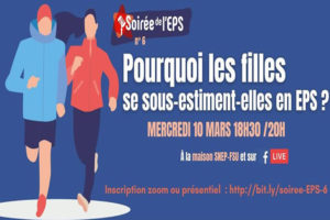 Soirée de l'EPS n°6 – Pourquoi les filles se sous-estiment-elles en EPS ?